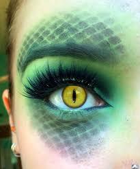 medusa makeup idea reptile makeup by strawberica