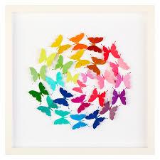 Butterfly Ball Paper Cut