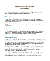 Board Report Template Word Meeting Report Format Yupar Magdalene Project Org