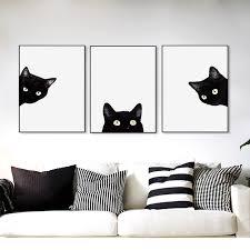 cute animal canvas wall art