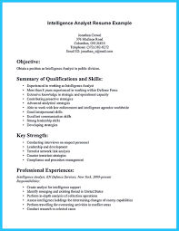 Intelligence Analyst Resume Examples If you are a business analyst and you just seeking for a job in a 53