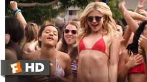 Teen college blonde neighboor gets