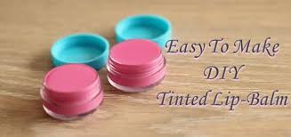 diy tinted lip balm for lusciously soft and plump lips the brunette diaries
