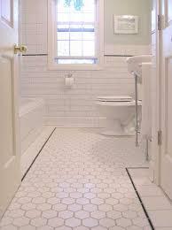vintage bathroom floor tile ideas. Interior-ideas-bathroom-elegant-white-tile-ceramic-combined- Vintage Bathroom Floor Tile Ideas One Million