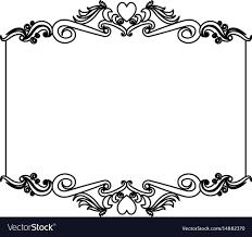 Card Frame Design Card Frame Makar Bwong Co