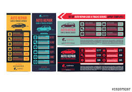 Auto Repair Flyer Auto Repair Service Flyer Layouts Buy This Stock Template