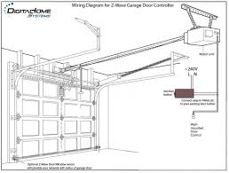 garage door opener wiring diagram fine genie sensor in garage door wiring diagram