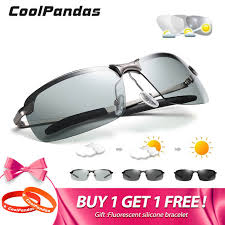 Online Shop <b>2019 New</b> Men's <b>Photochromic Polarized Sunglasses</b> ...