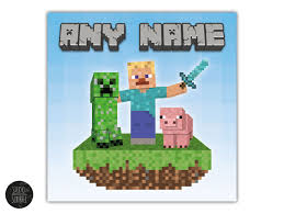 Minecraft Pictures To Print Minecraft Name Print Studio Scribble