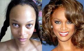 tyra banks without her makeup google pretraživanje no photo tyra bank