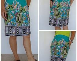 Simple Skirt Pattern New Simple Skirt Pattern Etsy