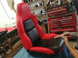 bottom seat cushions popped in and bam we ve got factory fresh seats
