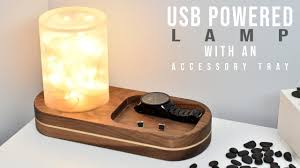 LED <b>DESK LAMP USB Powered</b> - YouTube