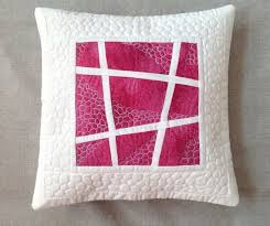 10 best images about pillow on Pinterest | Herringbone, Patchwork ... & Pink quilted pillow - decorative pillow - modern pillow cover - quilted  pillow cover - quilted pillow case - patchwork pillow Adamdwight.com