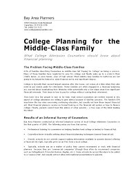 College Planning For The Middle Class Family By David Beck Issuu