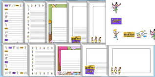 charlie and the chocolate factory resources roald page  page borders to support teaching on charlie and the chocolate factory