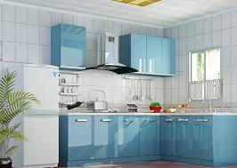 Blue Cabinets Kitchen Fine Light Blue Kitchen Cabinets Elegant Kitchen Light Blue
