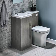 Structure Compact 900mm Furniture Suite inc. Vanity & Basin, Toilet & Seat  and Concealed Rollover image