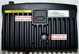 an overview of the motorola sm50 sm120 mobile radios when i got the radio i saw the rubber push button under the chassis but could not figure out how to get the cover off it took a few seconds of reading