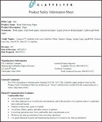 Product Information Form Template Product Information Sheet Template ...