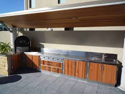Stainless Steel Outdoor Kitchen Infresco Install A Range Of Splashbacks To Add The Final Touch To