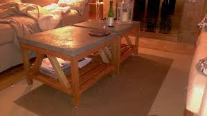 bluestone coffee table. DIY Crate \u0026 Barrel Bluestone Coffee Tables Table
