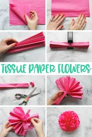 Tissue Paper Flower Tissue Paper Flowers The Ultimate Guide Cute Crafts Pinterest