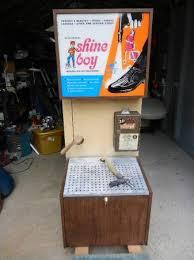 "Shoe Vending Machine Custom RARE 48s48s ""SHINE BOY"" COIN OPERATED VENDING MACHINE Obnoxious"