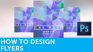How To Design A Flyer In Adobe Photoshop Solopress Tutorial Youtube