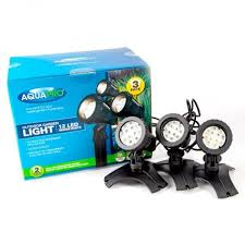 led garden lights aquapro 12 led warm