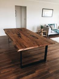 timber slab table eltham