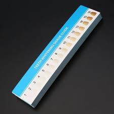 16 Color Chart Amazon Com 30pcs 16 Color Teeth Whitening Palette Dental