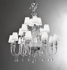 modern murano chandelier l16k clear glass murano imports