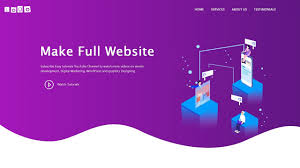 Web Page Design Using Bootstrap How To Make A Website Using Html Css Bootstrap Complete Website Design Tutorial