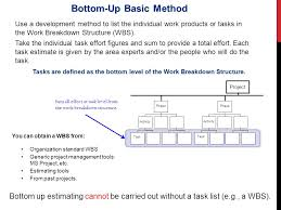 Bottom Up Estimates Magdalene Project Org
