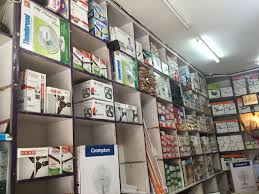 Electrical Shop Counter Design Indu Communication Electrical Dalibagh Electricians In