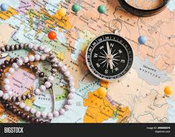 Top View Planning Trip Image Photo Free Trial Bigstock