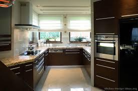 dark wood modern kitchen cabinets. 01, Modern Dark Wood Kitchen Cabinets L