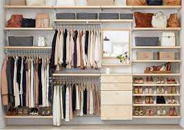 elfa custom closet shelving organizer