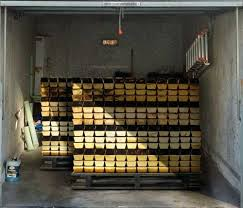 3d garage door cover don t you wish your garage was full of gold bars