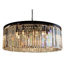 lightupmyhome 12 light crystal prism chandelier
