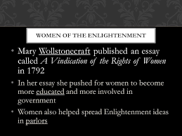 complete the key terms and people for the scientific revolution 27 mary wollstonecraft published an essay called a vindication of the rights of women
