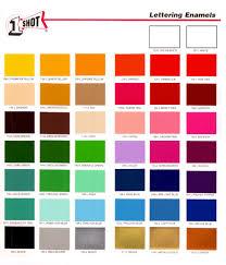 1 Shot Lettering Enamel Paint Css E Store