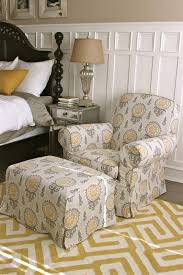 Small Bedroom Chair With Ottoman Fancy Bedroom Chairs And Ottomans On Home Design Ideas With