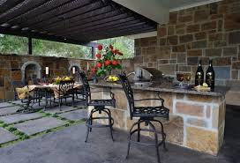 Steel Frame Outdoor Kitchen Patio Furniture For Outdoor Dining And Seating Custom Home Design