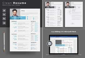 Microsoft Word Resume Templates Simple 48 Professional MS Word Resume Templates With Simple Designs