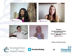 contract cheating and the essay writing industry where does the mon  26 contractcheating video testimonials