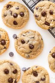 Almond Flour Chocolate Chip Cookies A Saucy Kitchen