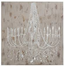 Casa Padrino Baroque Oil Painting Chandelier Cream White