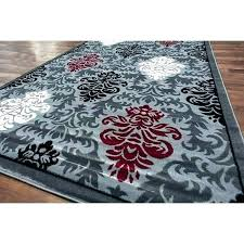 red white black rug red black and grey area rugs red black and gray area rugs